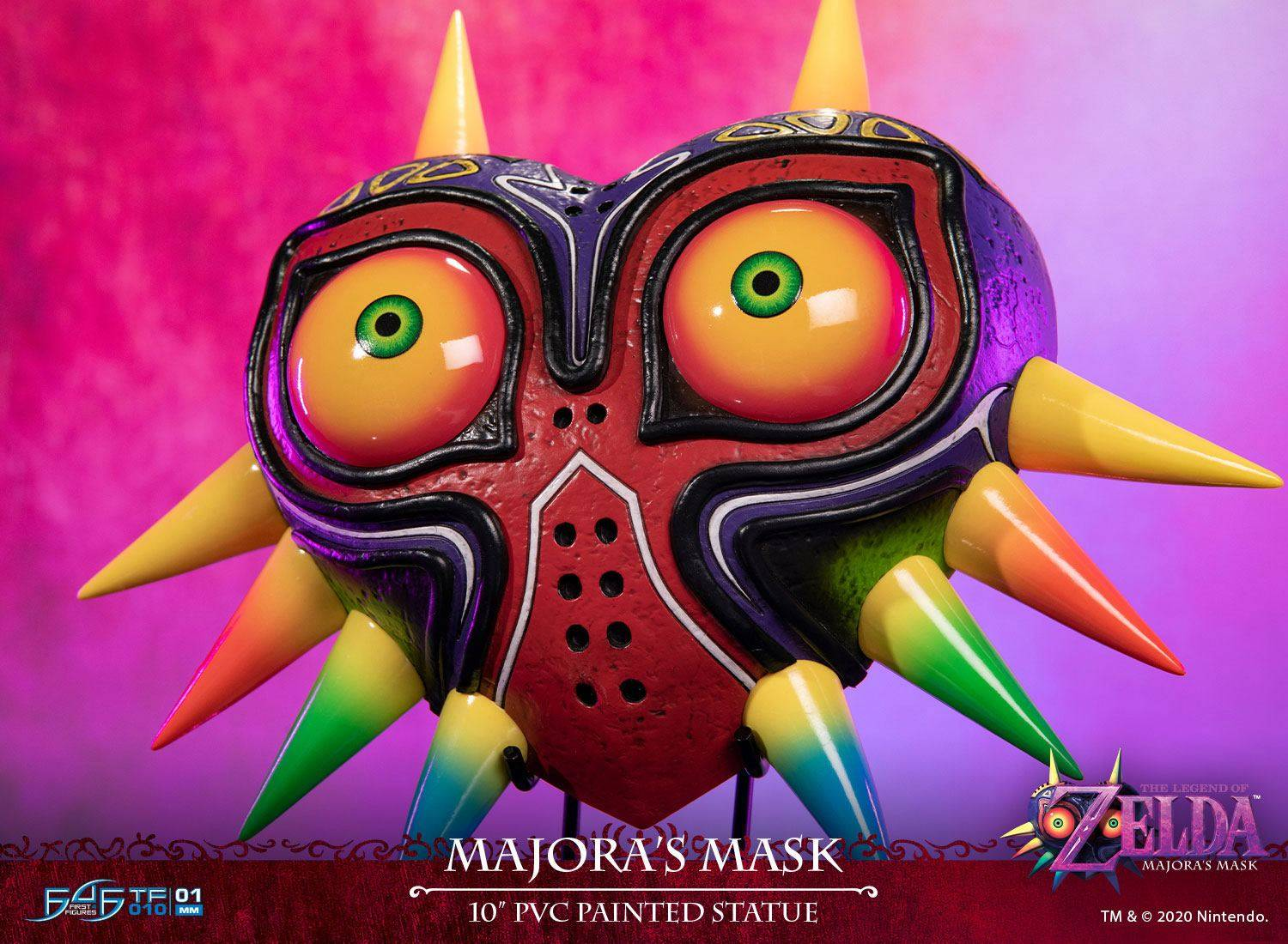 The Legend Of Zelda Figurine Majora\'s Mask Standard 25 cm First 4 Figures
