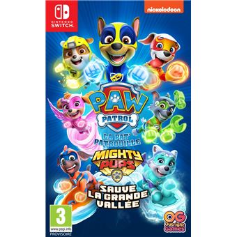 PAW PATROL 2(PAT\' Patrouille)  Mighty Pups Save Adventure Bay SWITCH