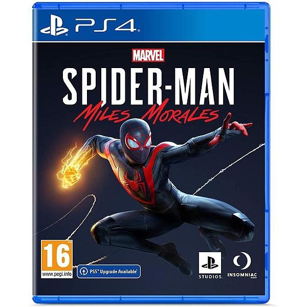 Marvel Spider Man Miles Morales PS4