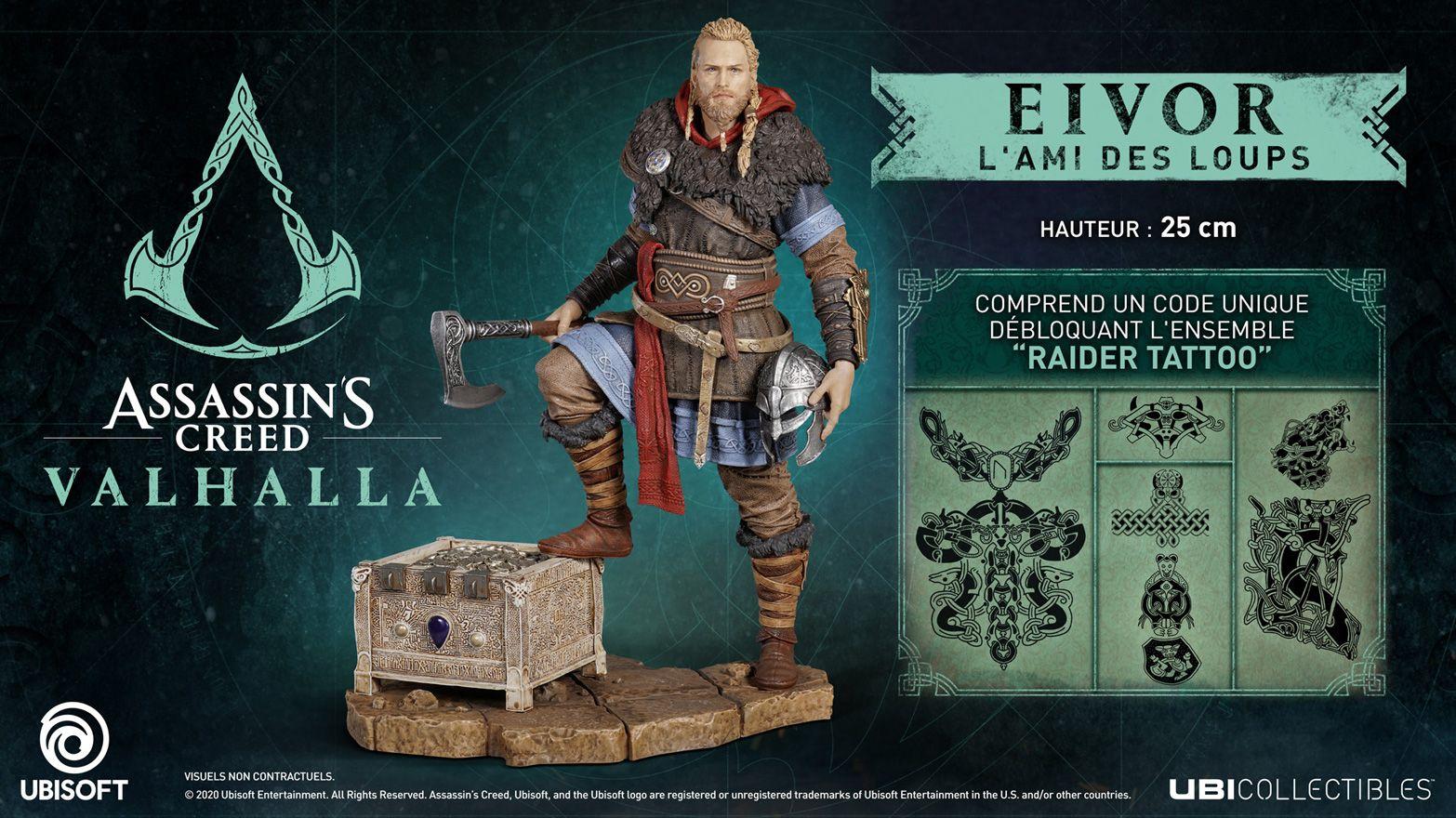Assassin\'s Creed Valhalla figurine Eivor