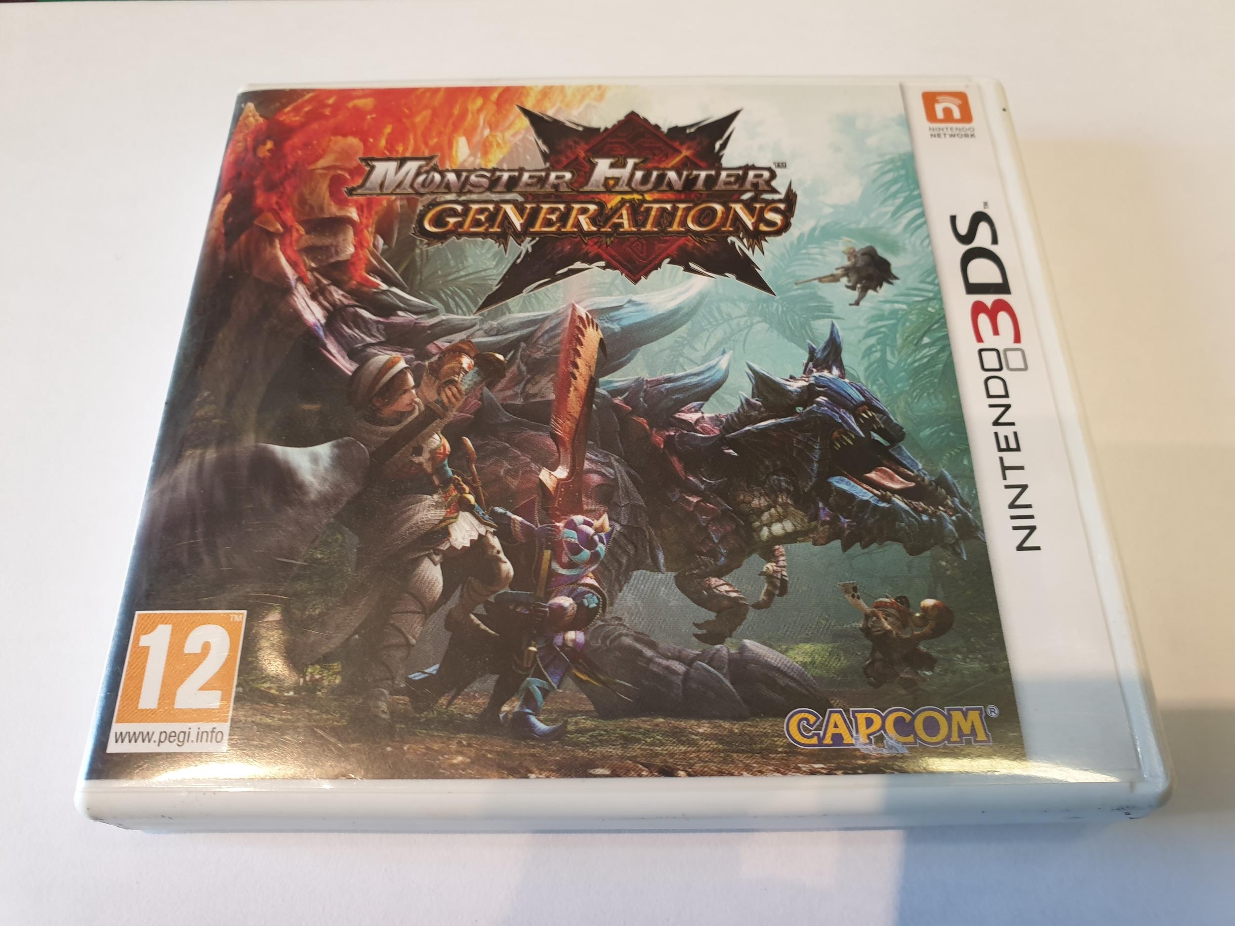 Monster Hunter Générations 3DS