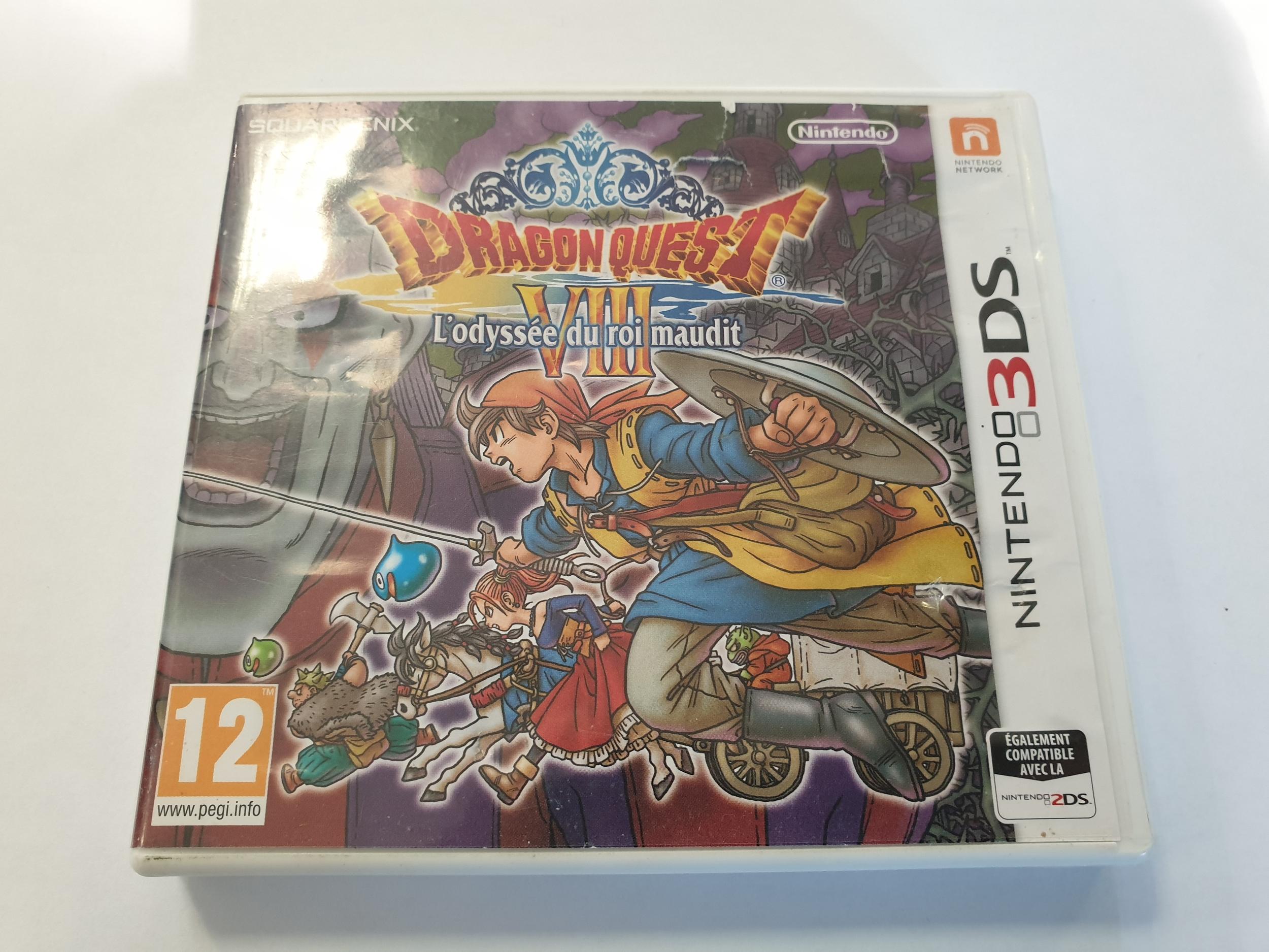 Dragon Quest VIII : L\'Odyssée du Roi Maudit 3DS