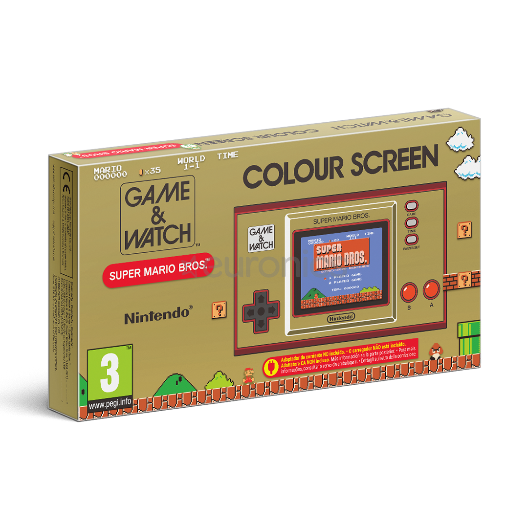 GAME & WATCH : SUPER MARIO BROS 35TH ANNIVERSARY EDITION