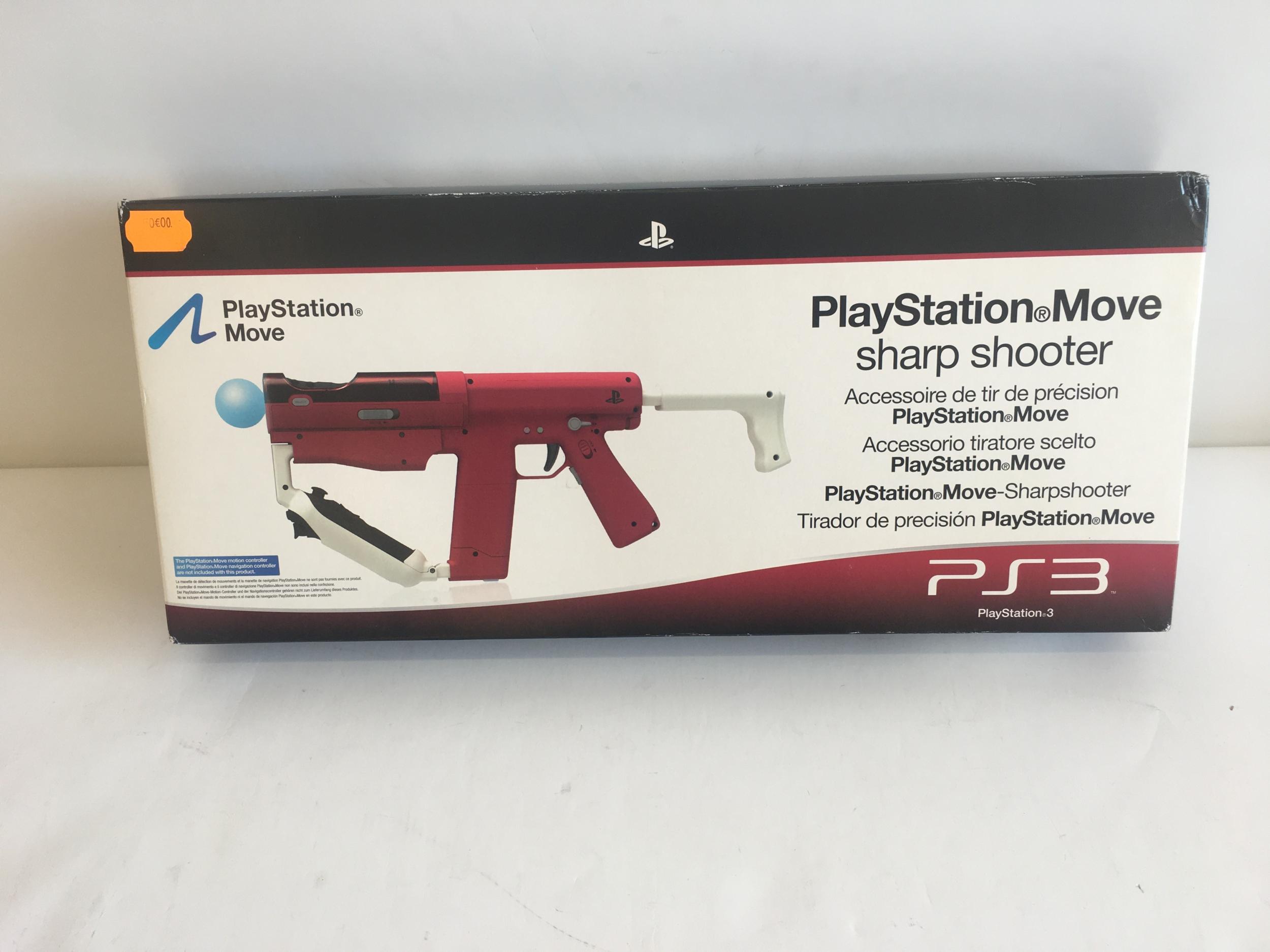 Playstation Move Sharp Shooter PS3