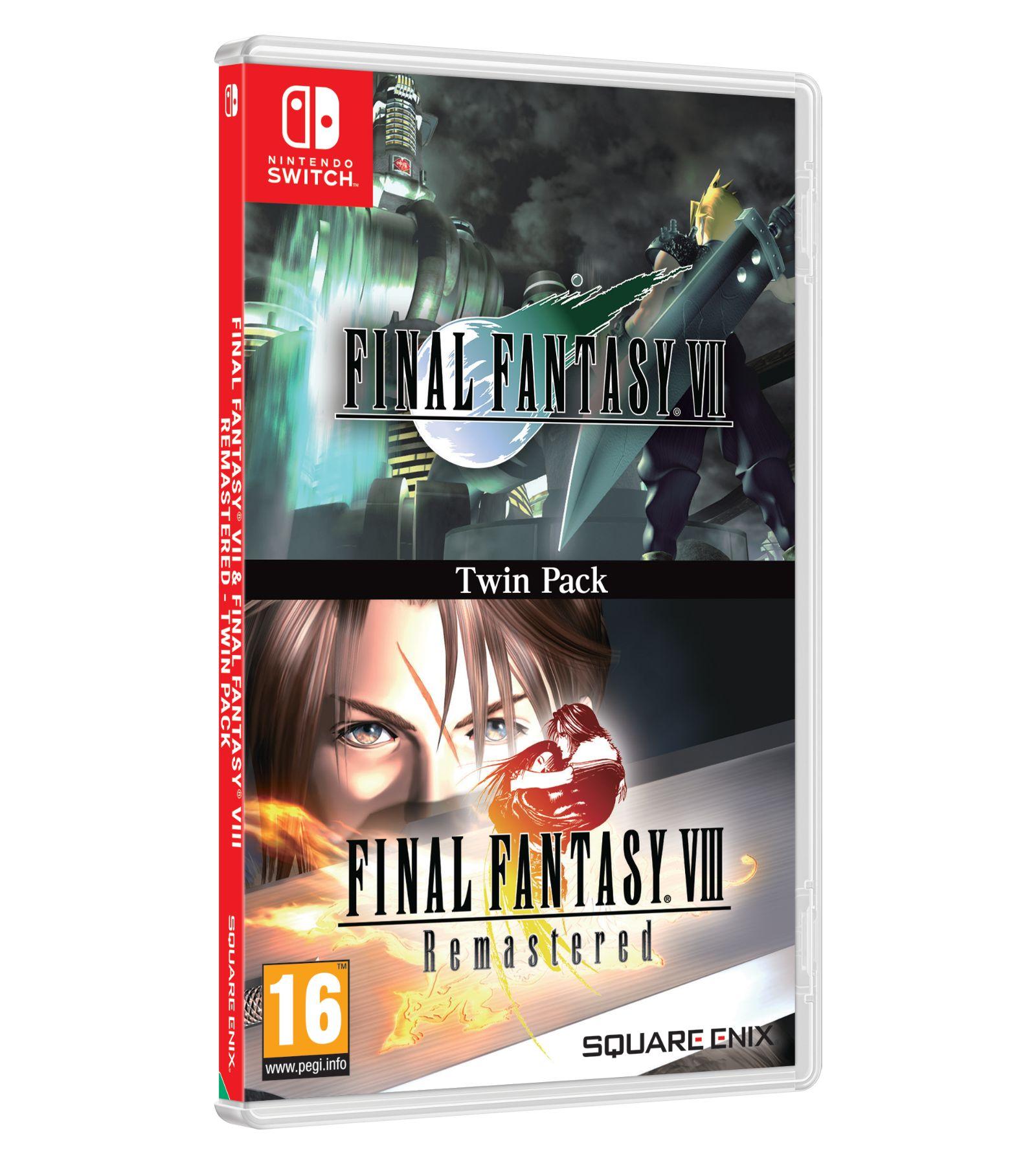 Final Fantasy VII & Final Fantasy VIII Remastered Double Pack