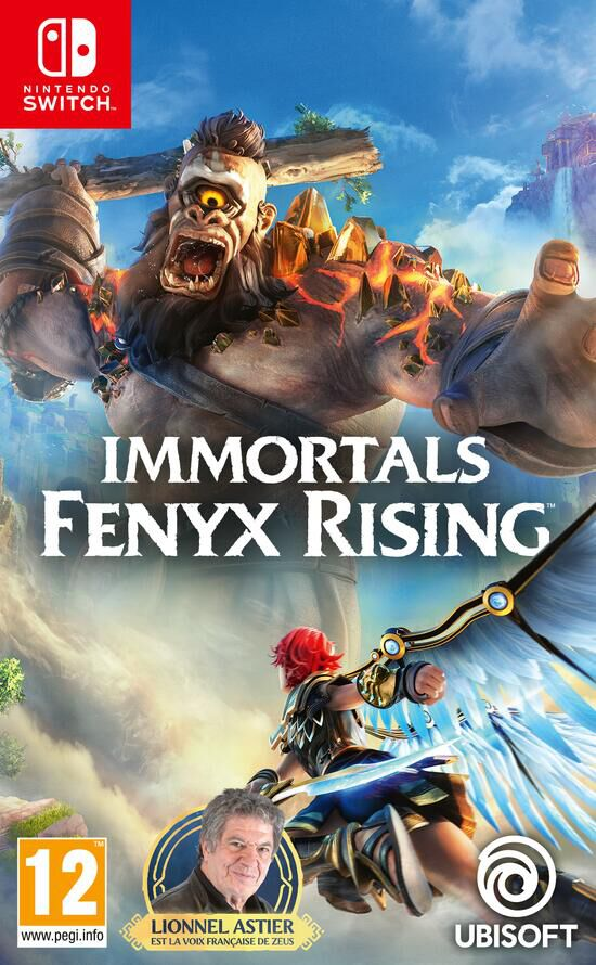 Immortals Fenyx Rising Switch