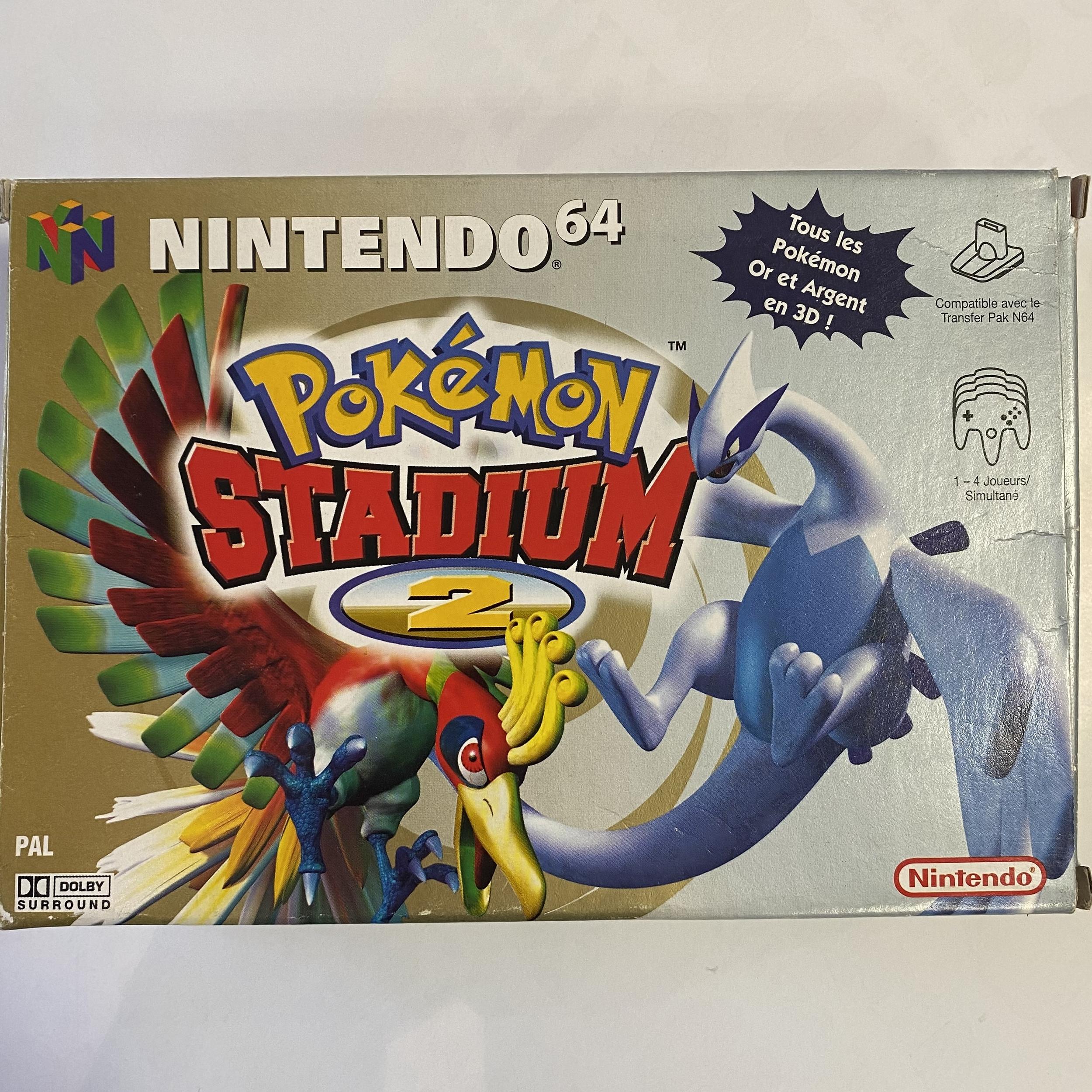Nintendo 64 - Pokémon Stadium 2 occasion