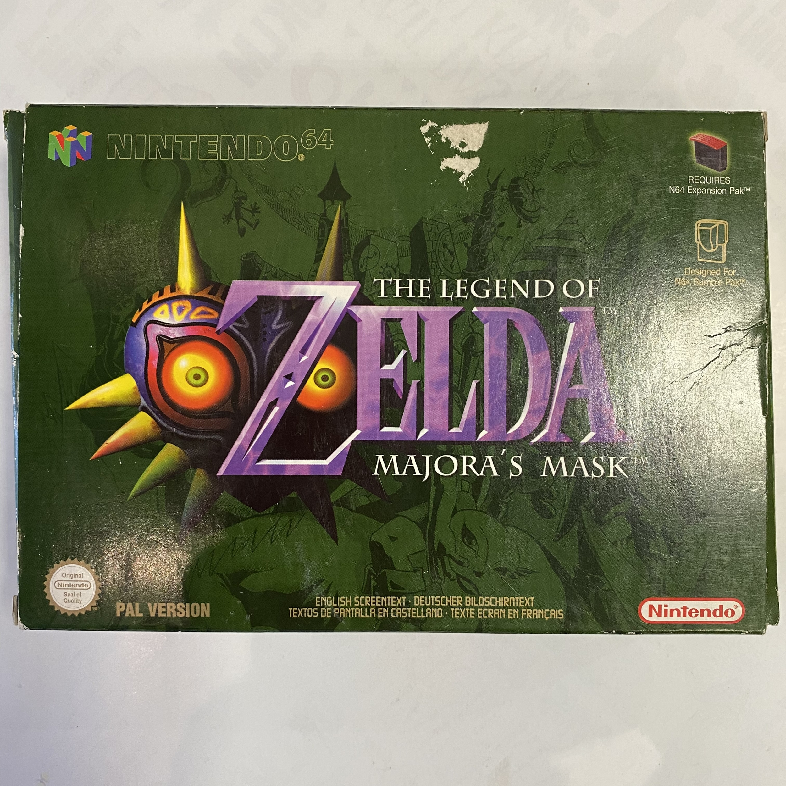 Nintendo 64 - The Legend Of Zelda Majora\'s Mask occasion