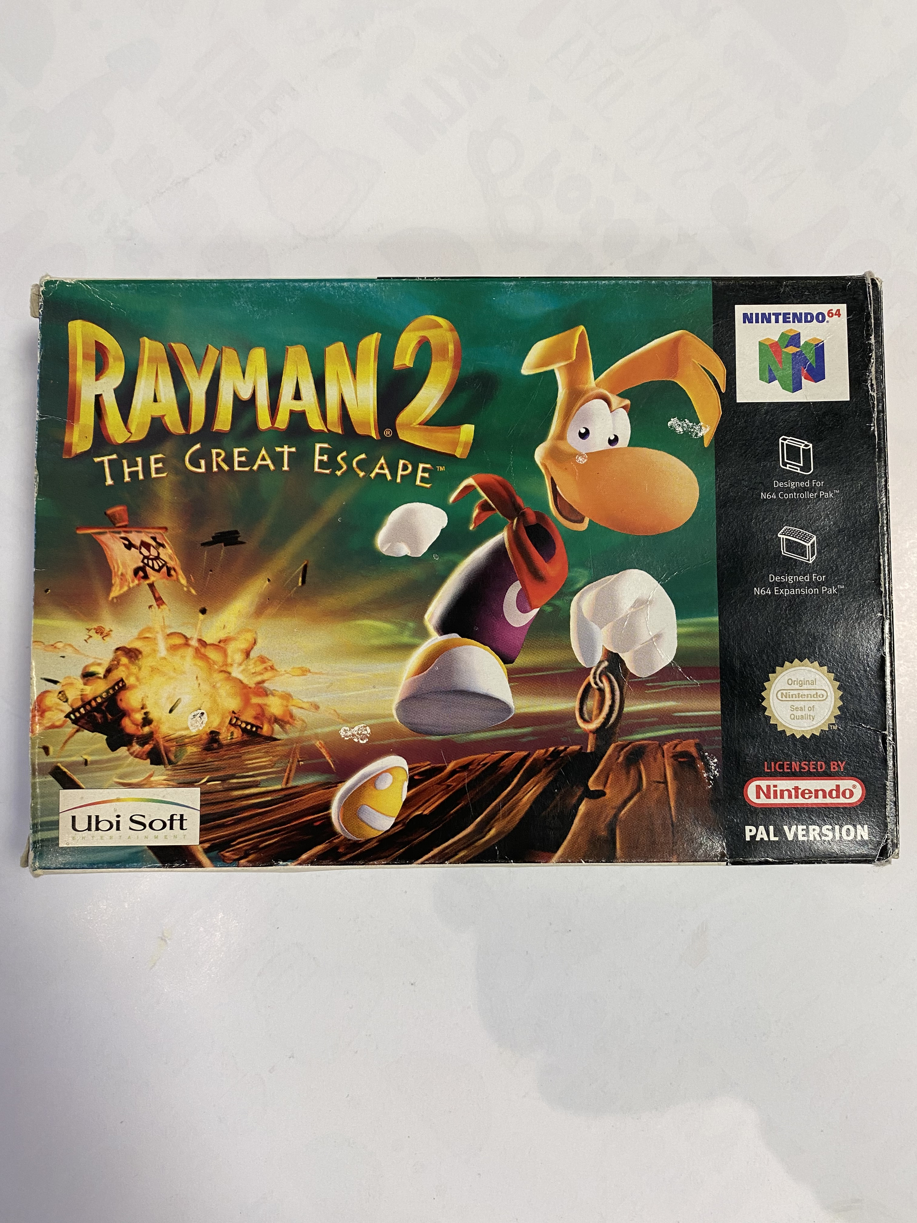 Nintendo 64 - Rayman 2 The Great Escape occasion