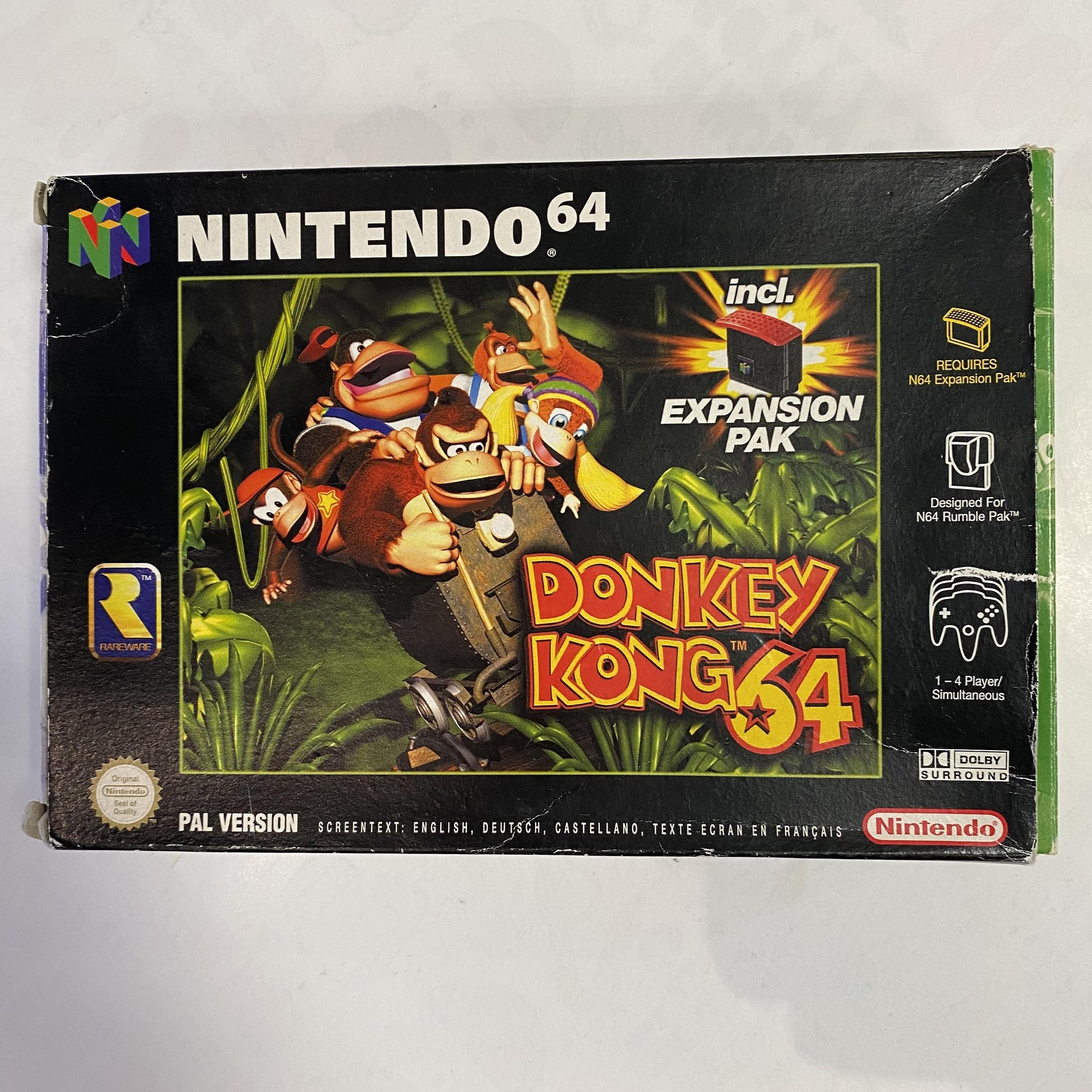 Nintendo 64 - Donkey Kong 64 occasion