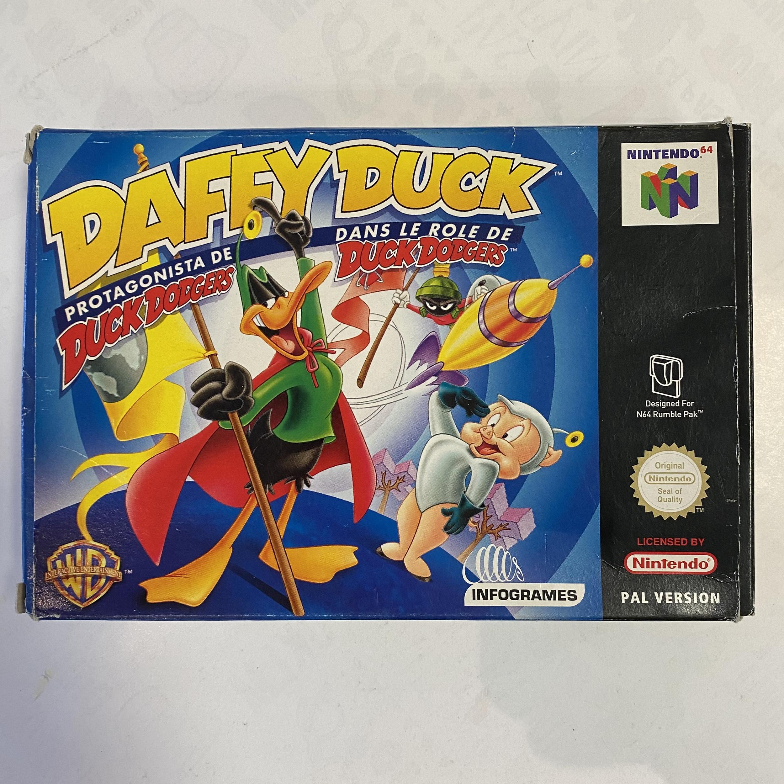 Nintendo 64 - Daffy Duck occasion