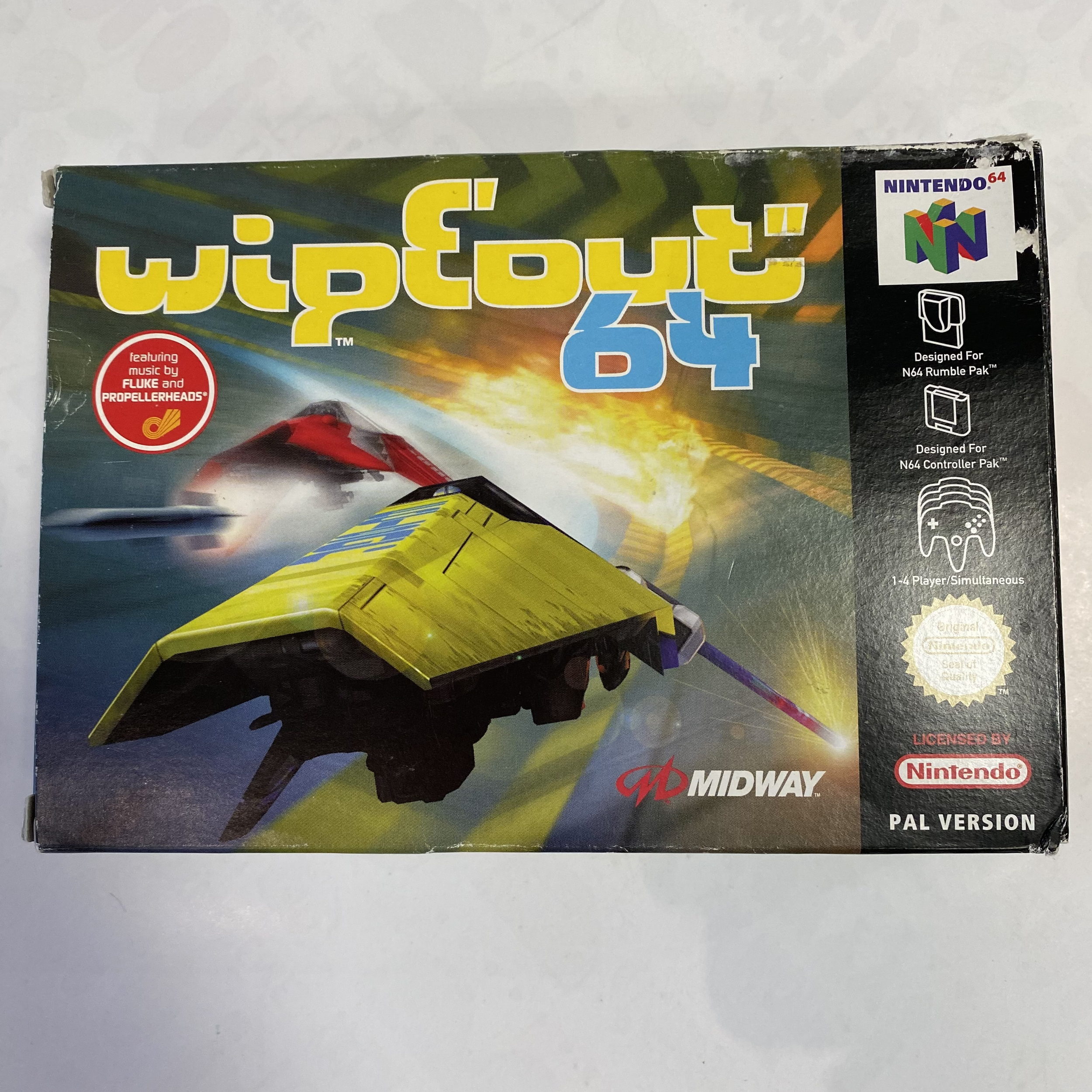 Nintendo 64 - Wipeout 64 occasion