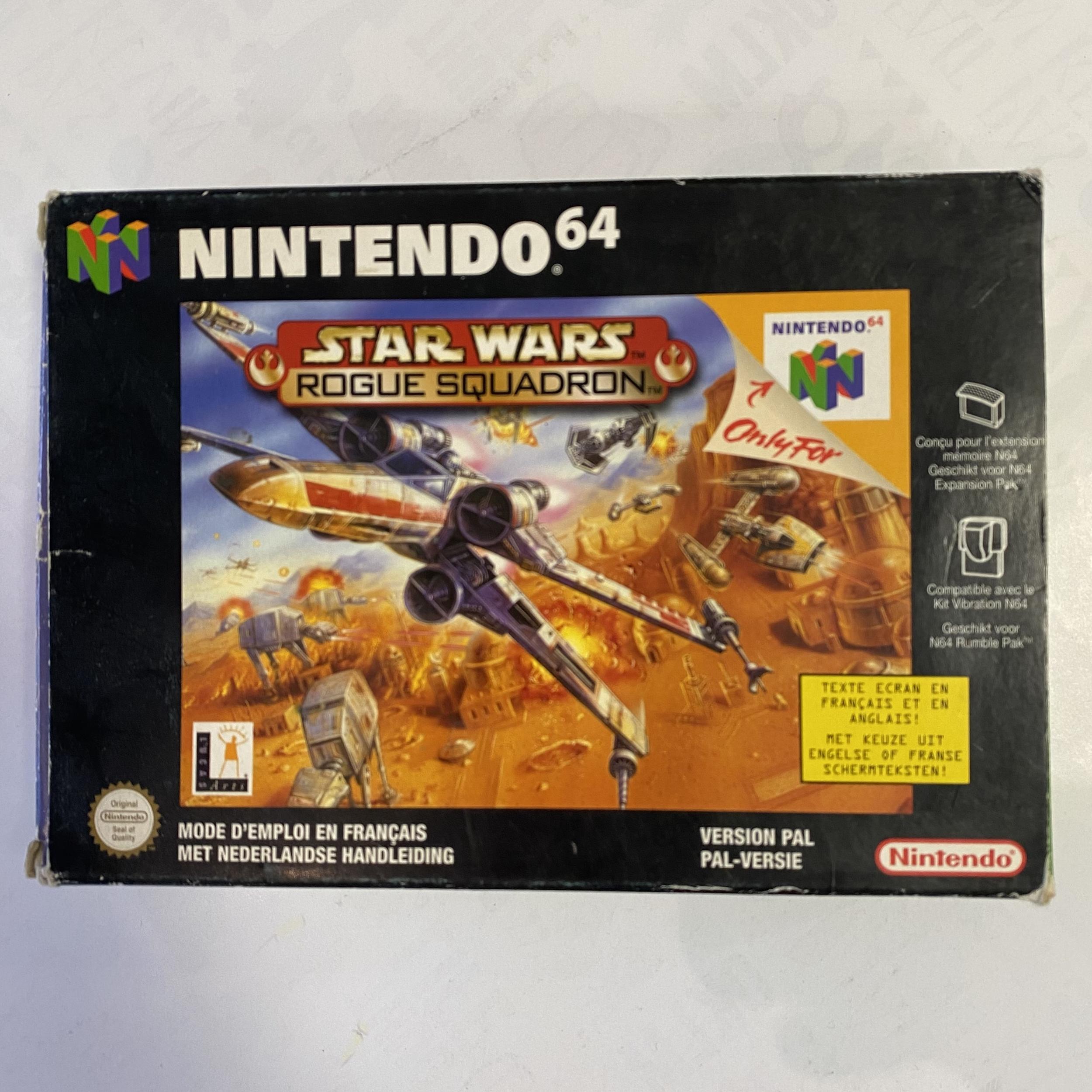 Nintendo 64 - Star Wars Rogue Squadron occasion