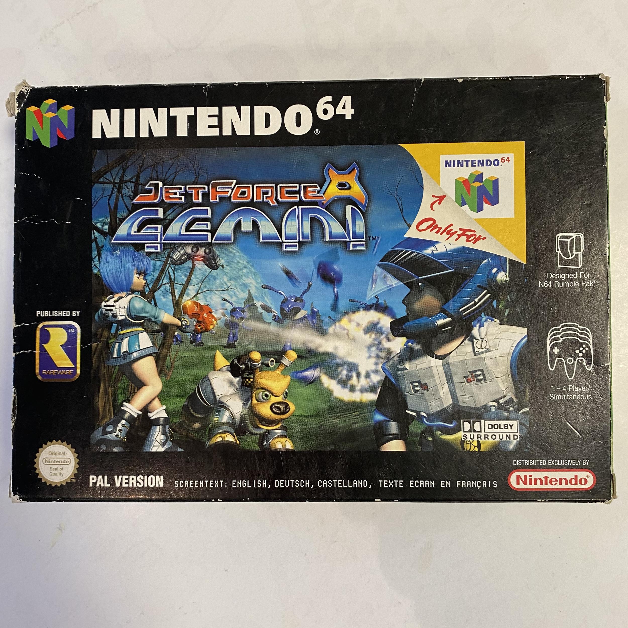Nintendo 64 - Jet Force Gemini occasion