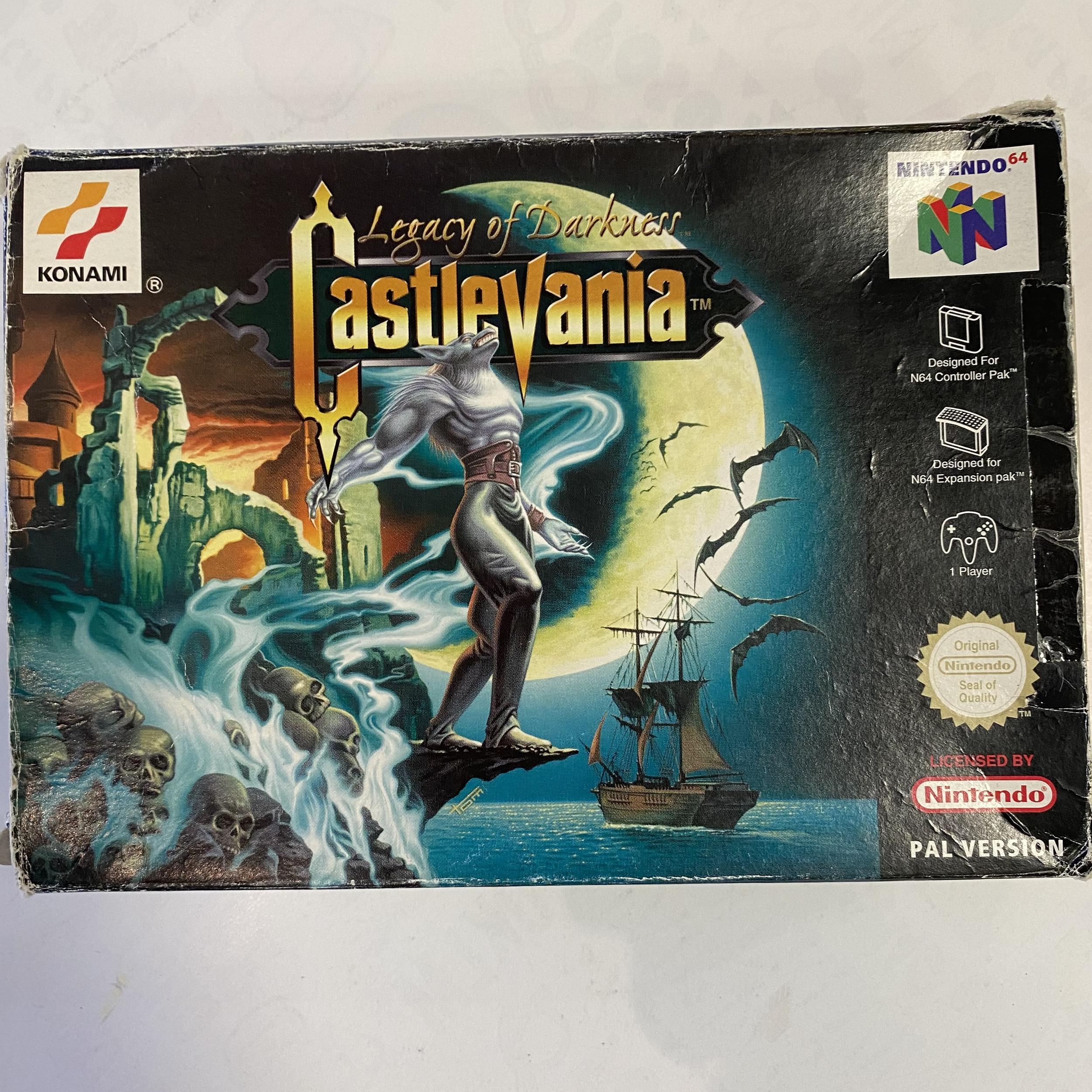 Nintendo 64 - Castlevania Legacy of Darkness occasion