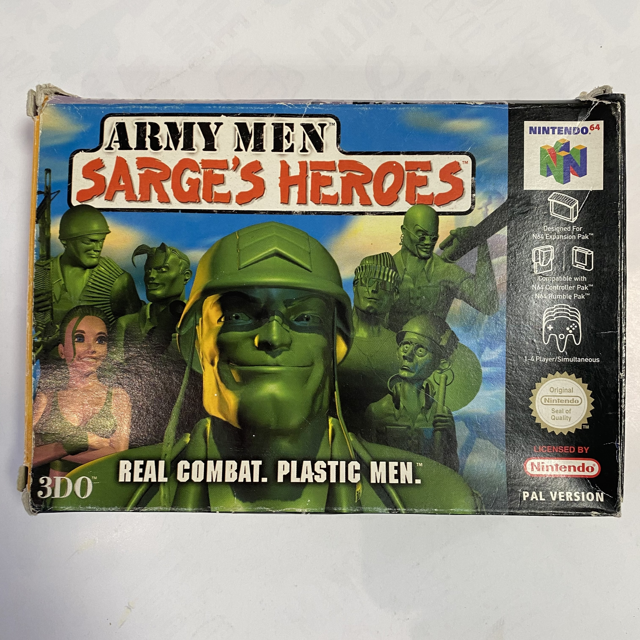 Nintendo 64 - Army Men Sarge\'s Heroes occasion