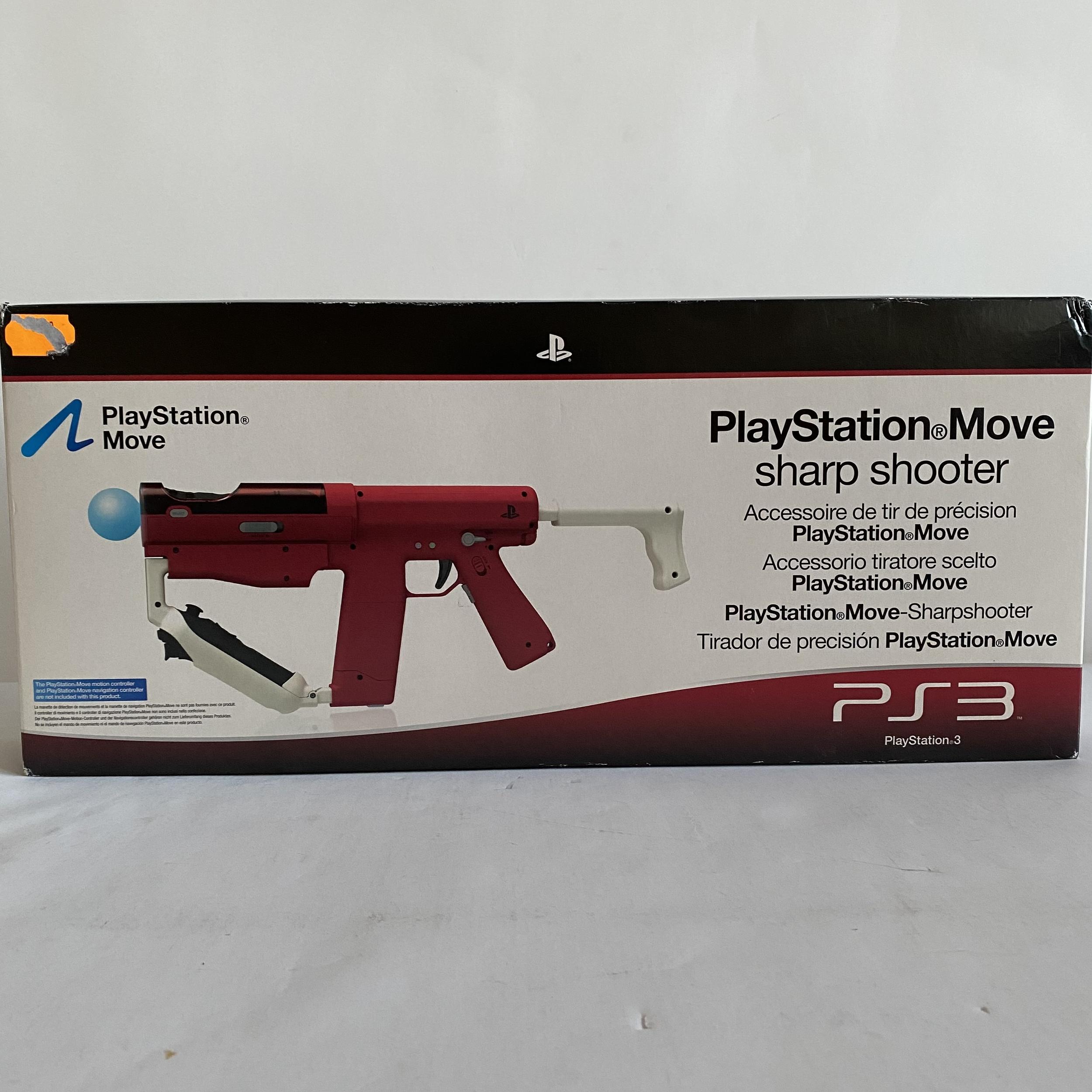 Playstation Move Sharp Shooter Neuf PS3