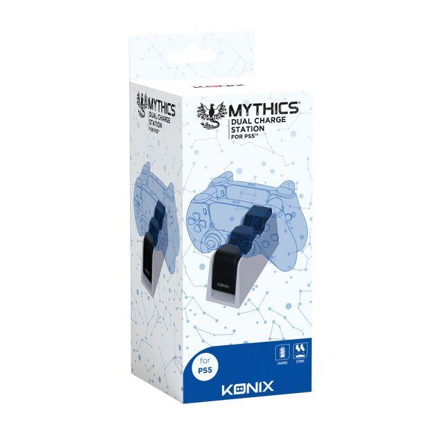 Base de charge double pour manette PS5 - Mythics