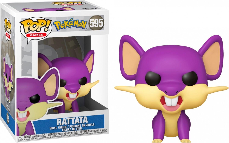 Funko Pop n°595 Pokémon - Rattata