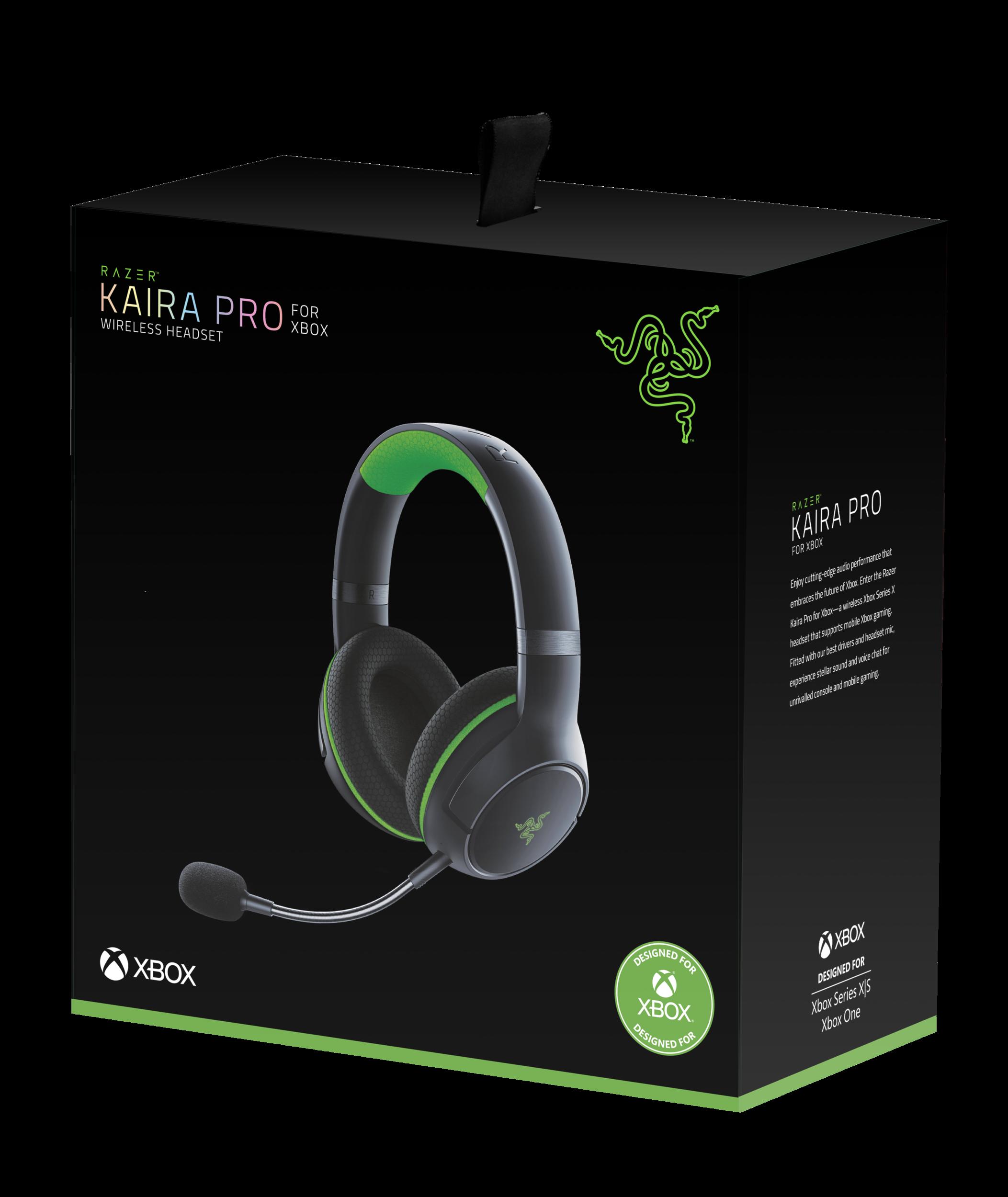 Casque sans fil Razer Kaira Pro pour Xbox Series X et le jeu Xbox mobile