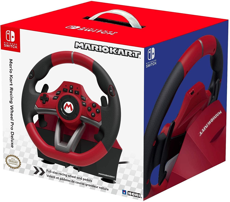 Volant Hori Mario Kart Racing Wheel Pro Deluxe