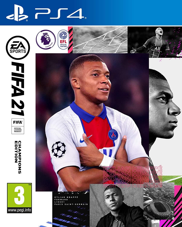 FIFA 2021 CHAMPIONS EDITION PS4 - COMPATIBLE PS5