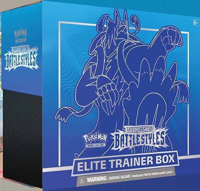 Pokémon - Coffret - EB05 Épée et Bouclier 5 Styles de Combat - Dresseur d\'Élite : Poing Final Bleu