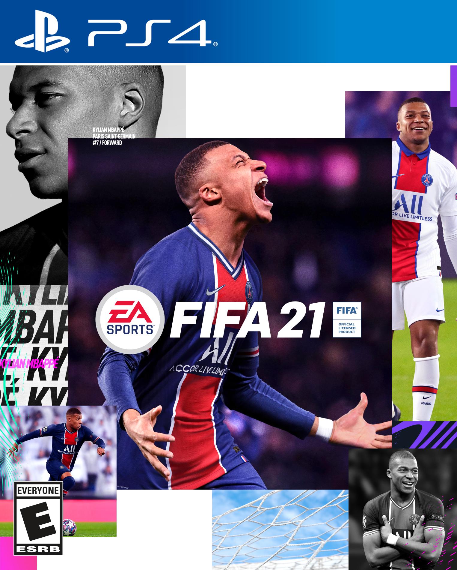 FIFA 2021 PS4 - COMPATIBLE PS5