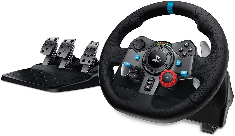 Logitech G29 Driving Force Volant de Course Compatible PS5, PS4, PS3 et Pc