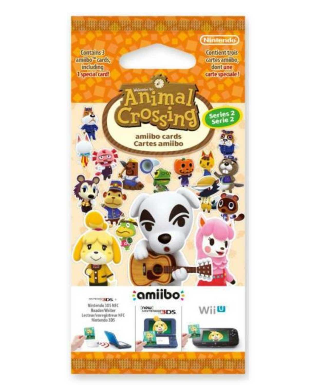 Paquet de 3 cartes Animal Crossing Série 2 neuf (3 paquets de 3 cartes)