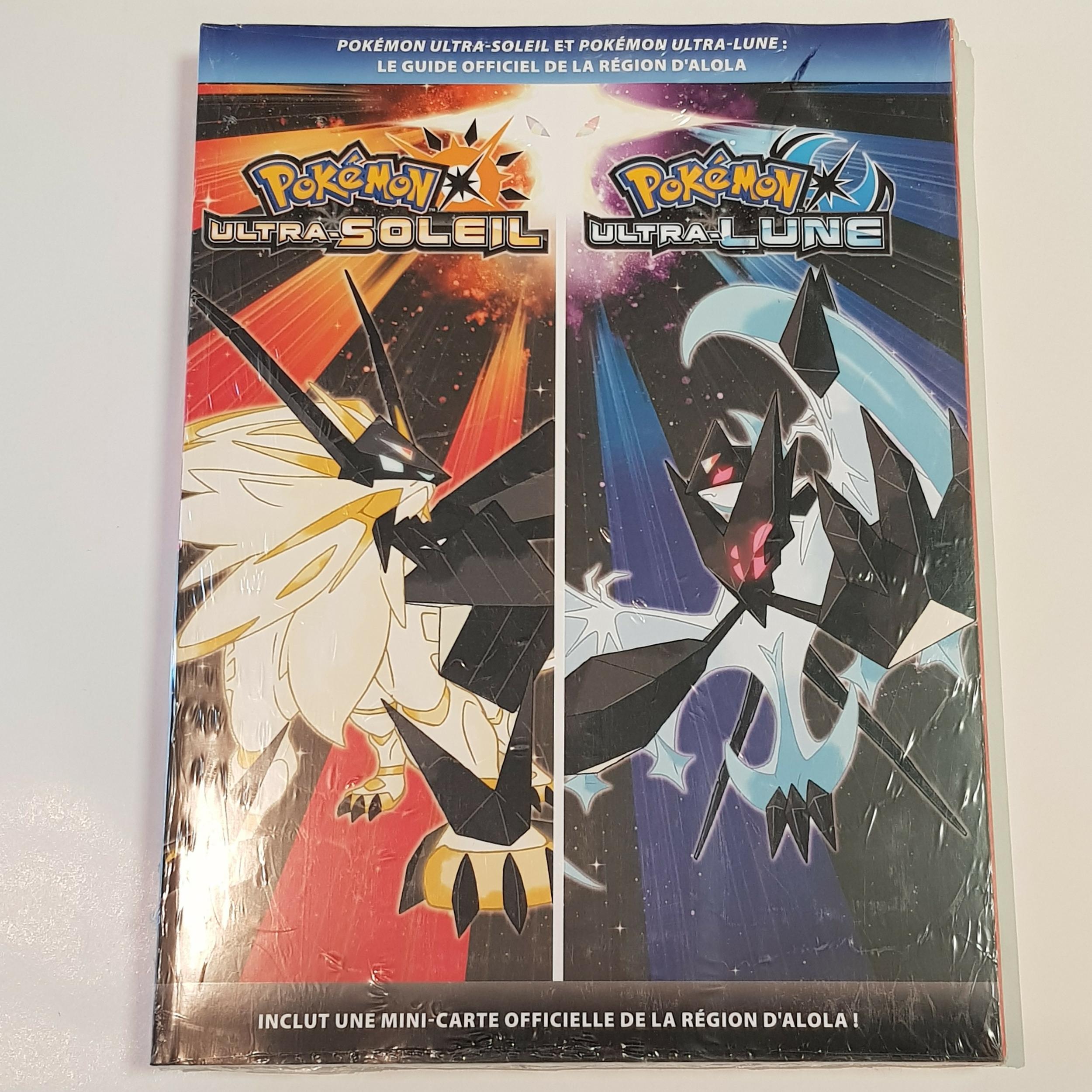 Guide Pokémon Version Ultra-Lune et Ultra-Soleil Neuf FR