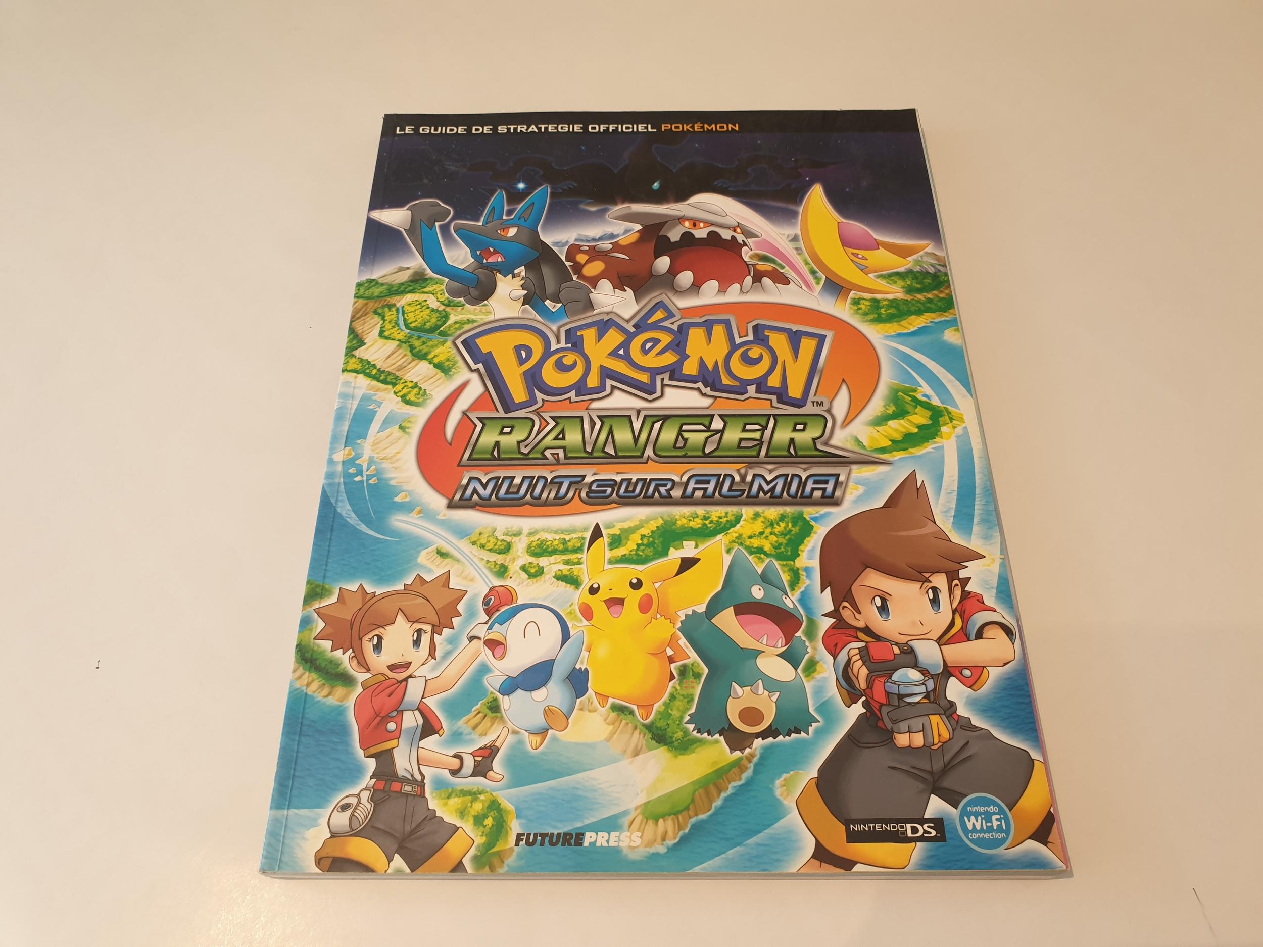 Guide de stratégie officiel Pokémon ranger : nuit sur Almia occasion