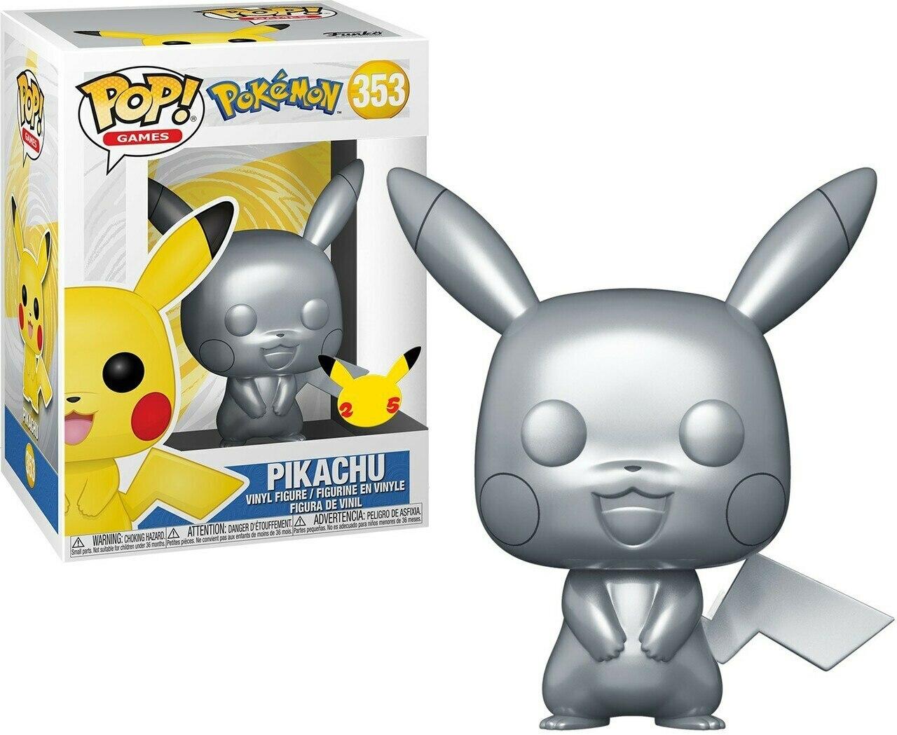Funko Pop n°353 Pokémon - Pikachu