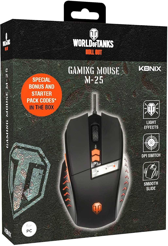 Gaming Mouse Konix World Of Tanks M-25