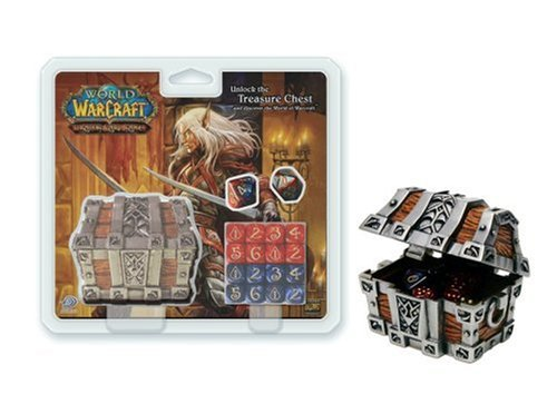 World Of Warcraft TCG Treasure Chest And Damage Dice