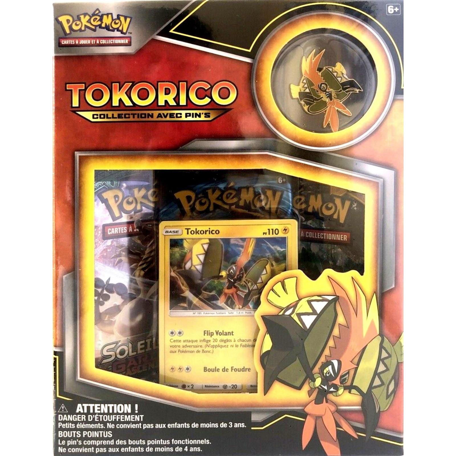 Pokémon - Coffret Pin\'s - Tokorico