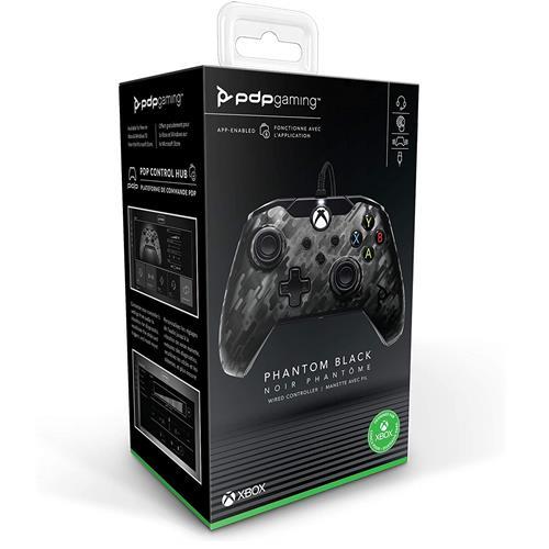 Microsoft Xbox One / Series X-S / PC Manette - PDP Câblé Xbox Un Noir Camouflage