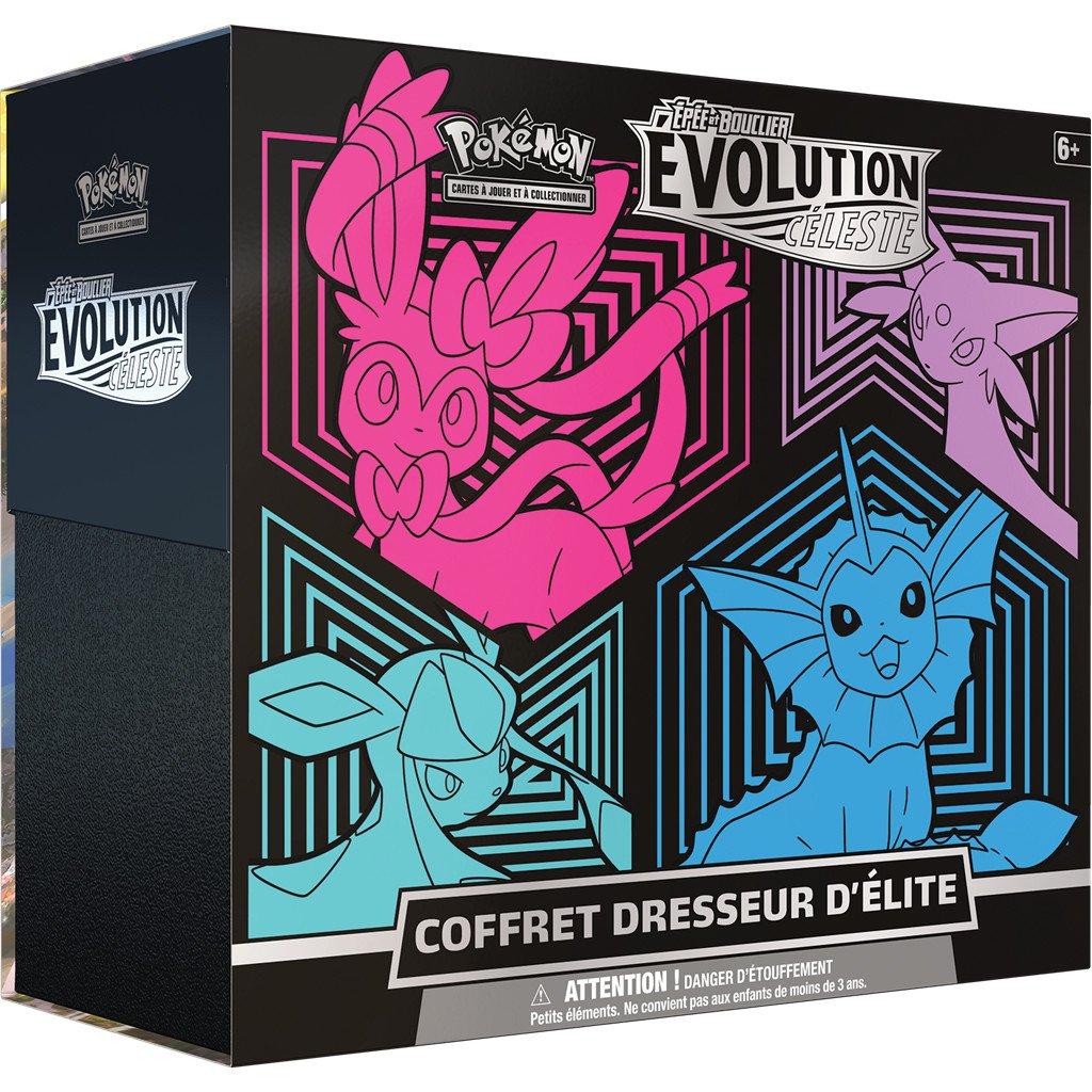 Pokémon EB07 : Evolution Céleste Coffret Dresseur d\'Elite vol 2