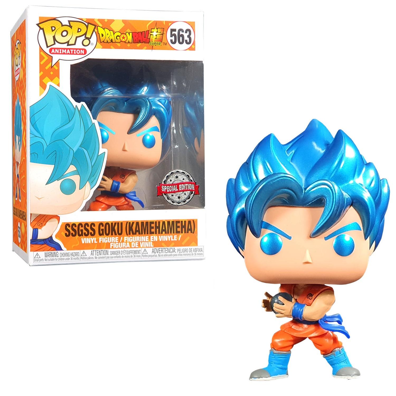 Funko Pop n°563 Dragon Ball Super - SSGSS Goku (Kamehameha)