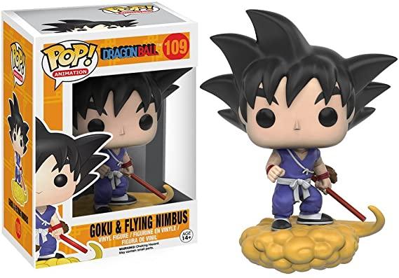 Funko Pop n°109 Dragon Ball - Goku & Flying Nimbus