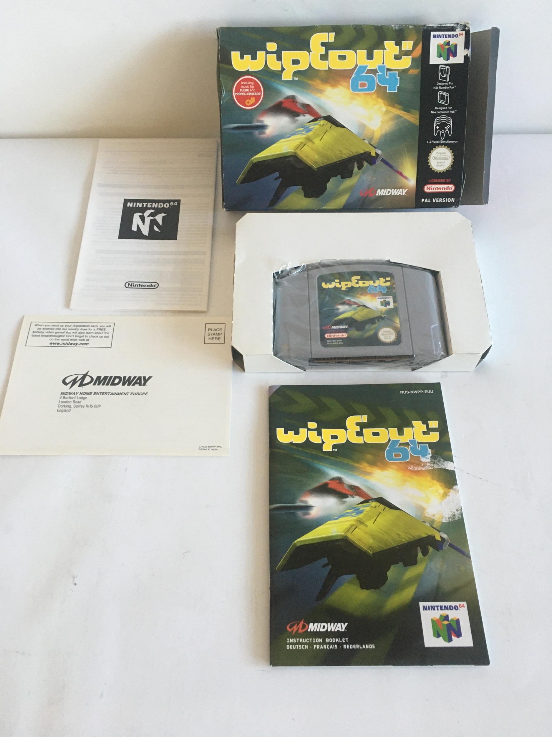 Wipeout 64 Nintendo 64