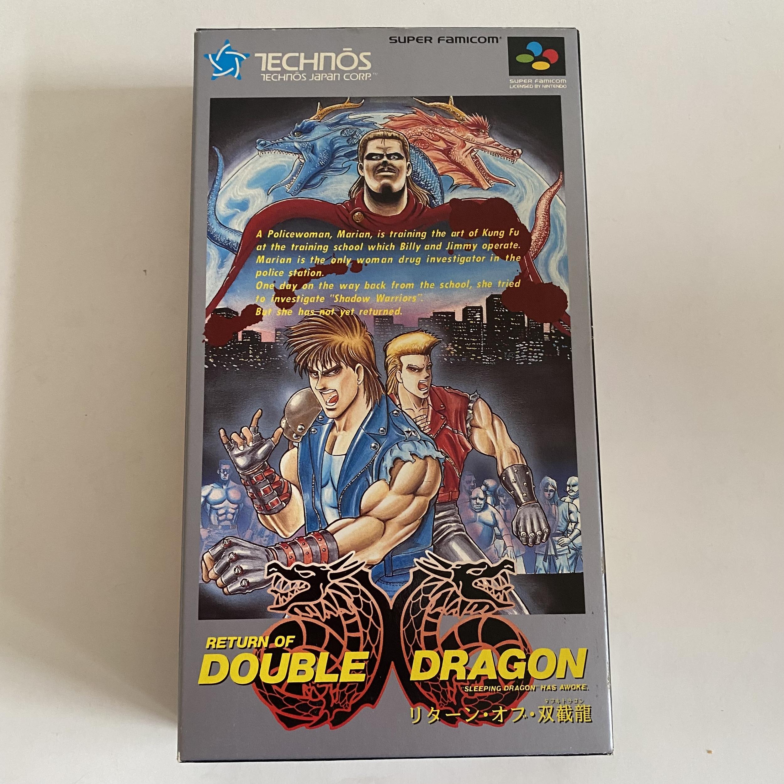 Return of Double Dragon- Super Famicom