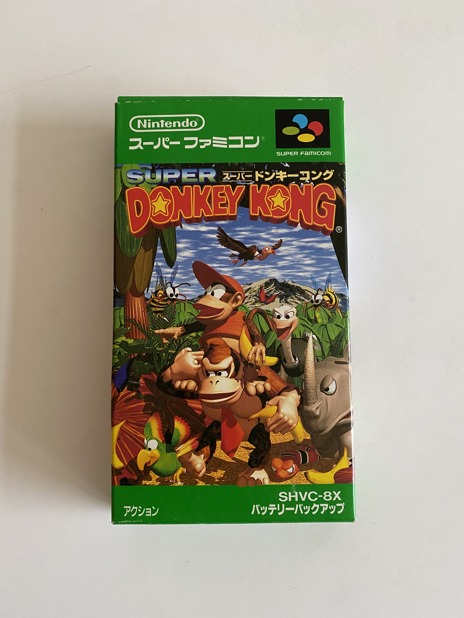 Super Donkey Kong - Super Famicom