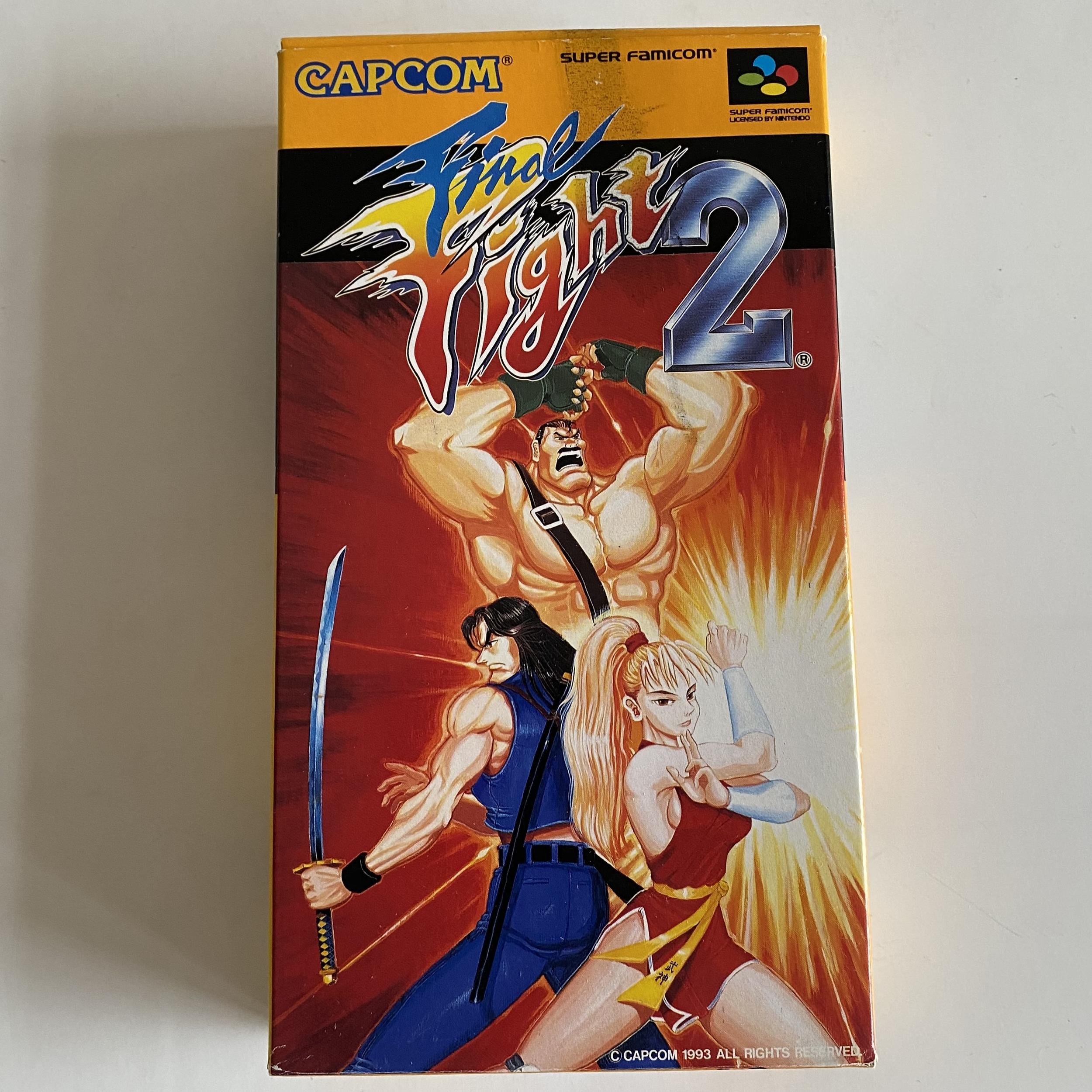 Final Fight 2 - Super Famicom