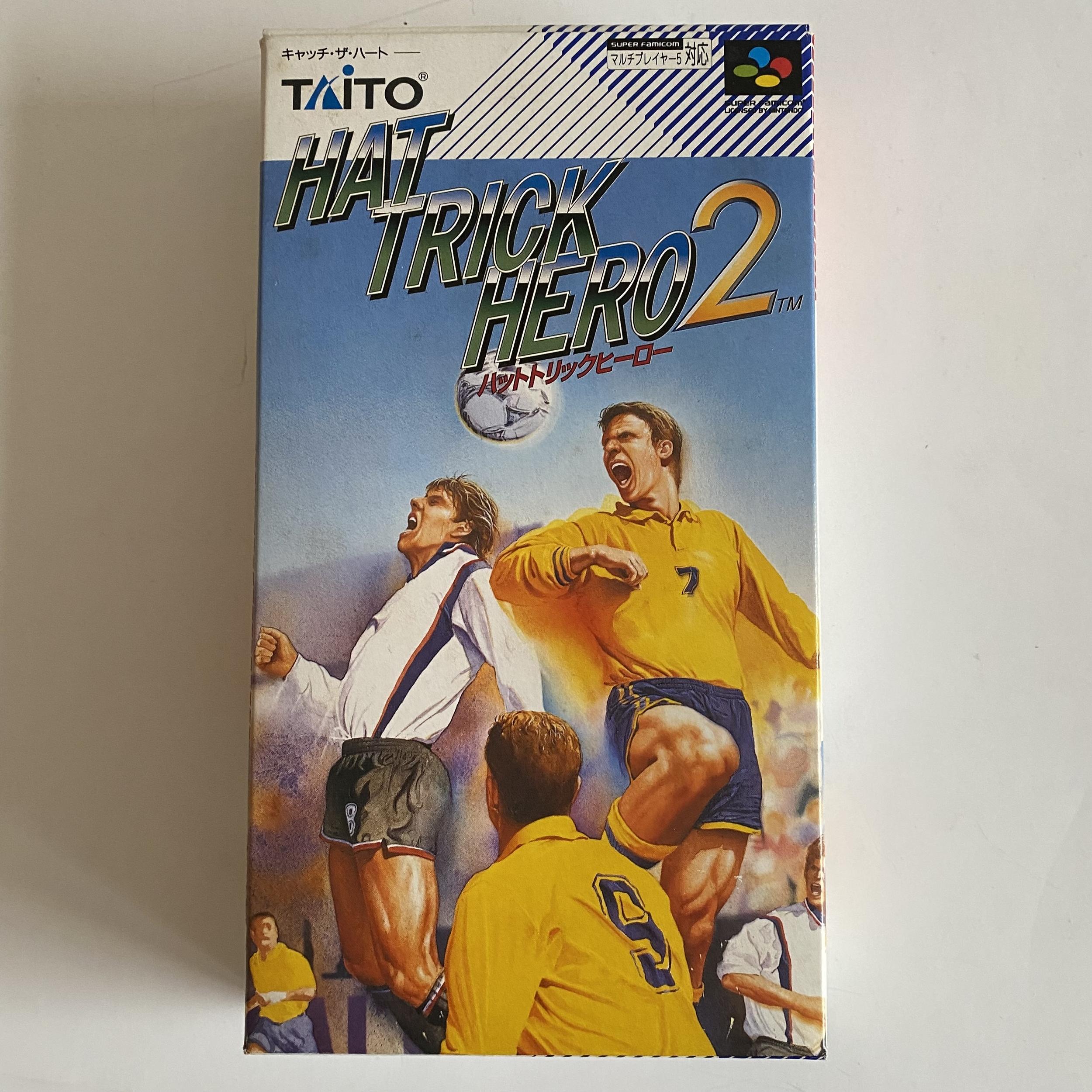 Hat Trick Hero 2 - Super Famicom