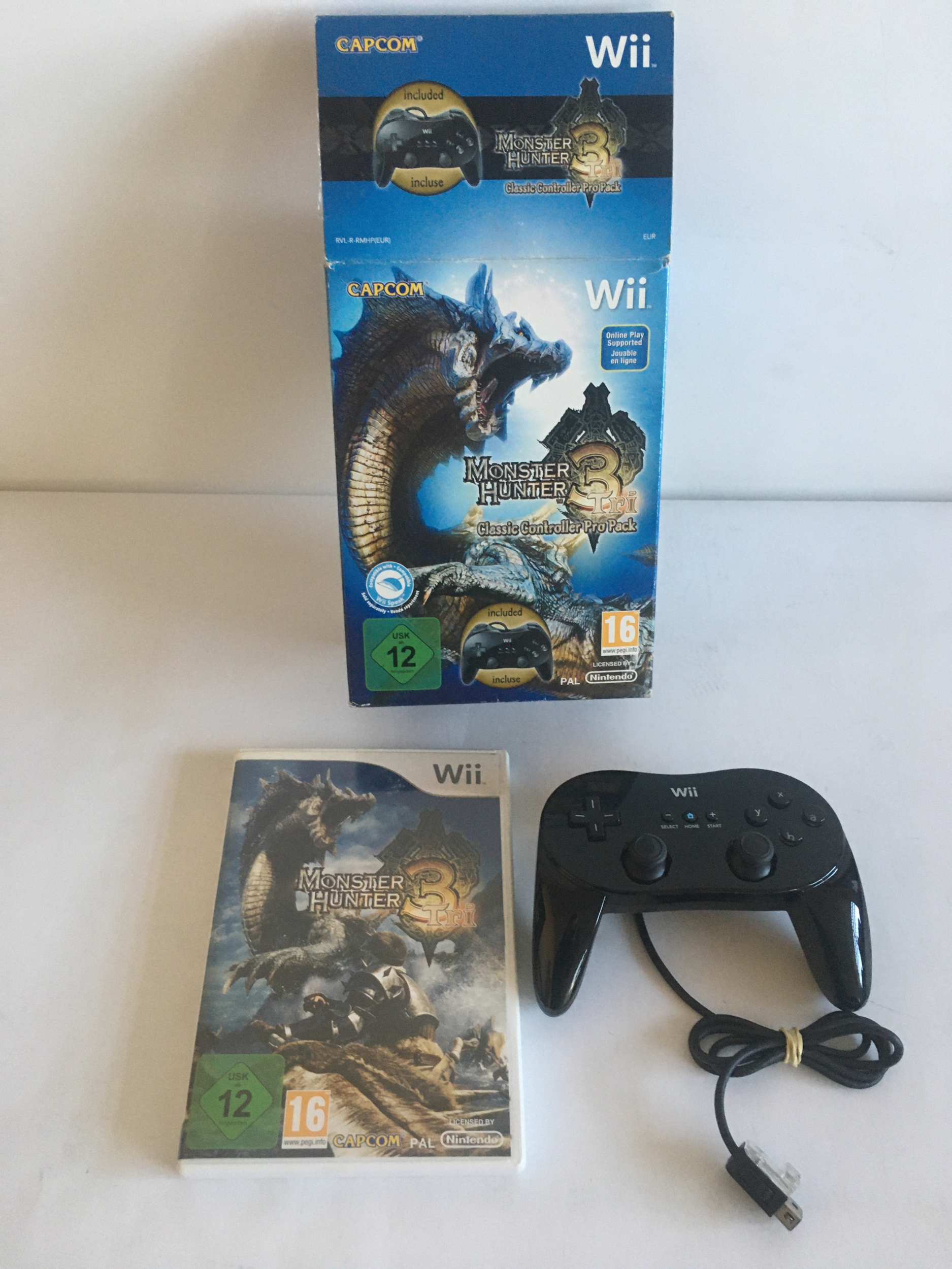 Monster Hunter 3 Pack Wii