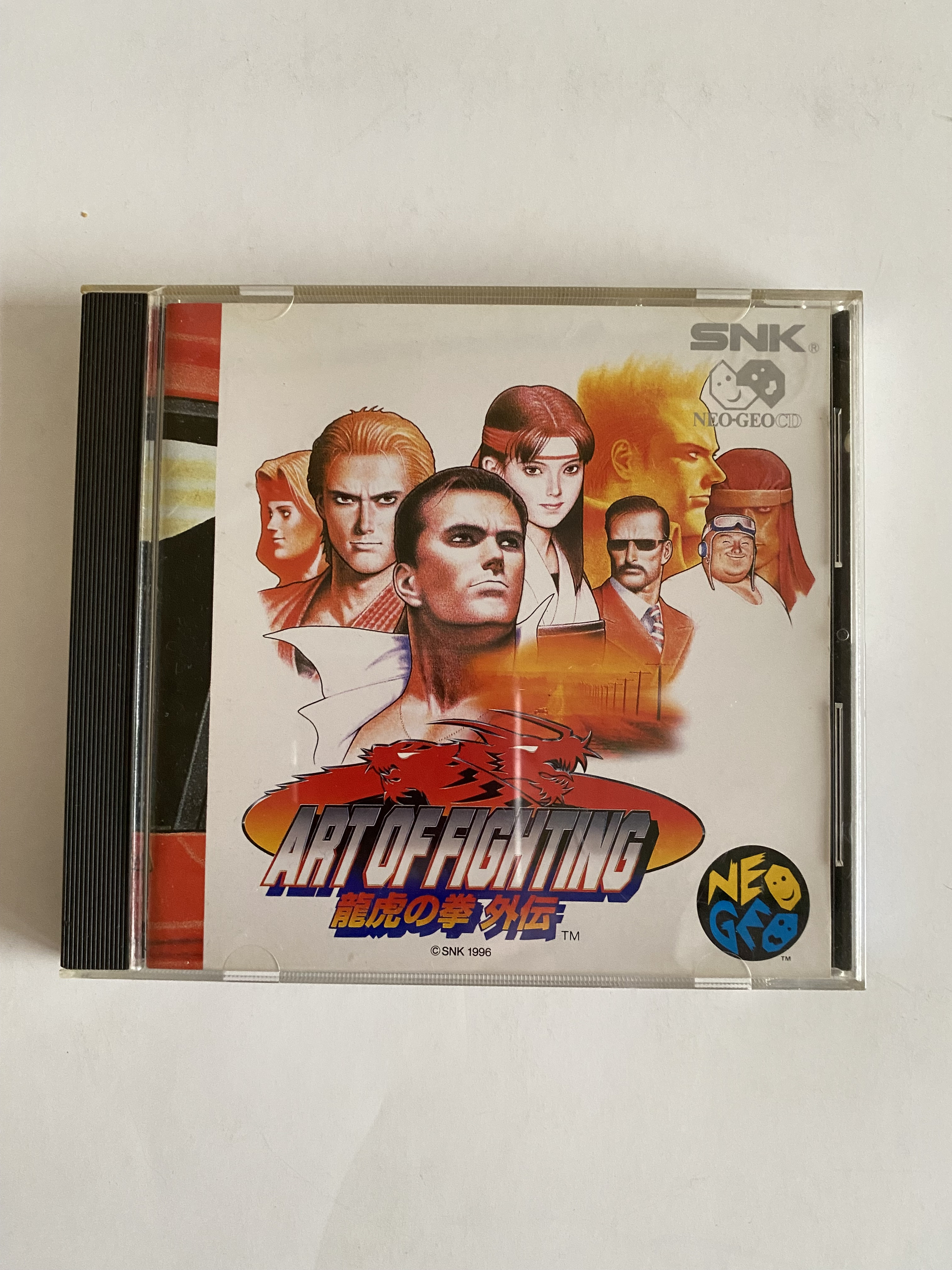 Art of Fighting - Neo Geo CD