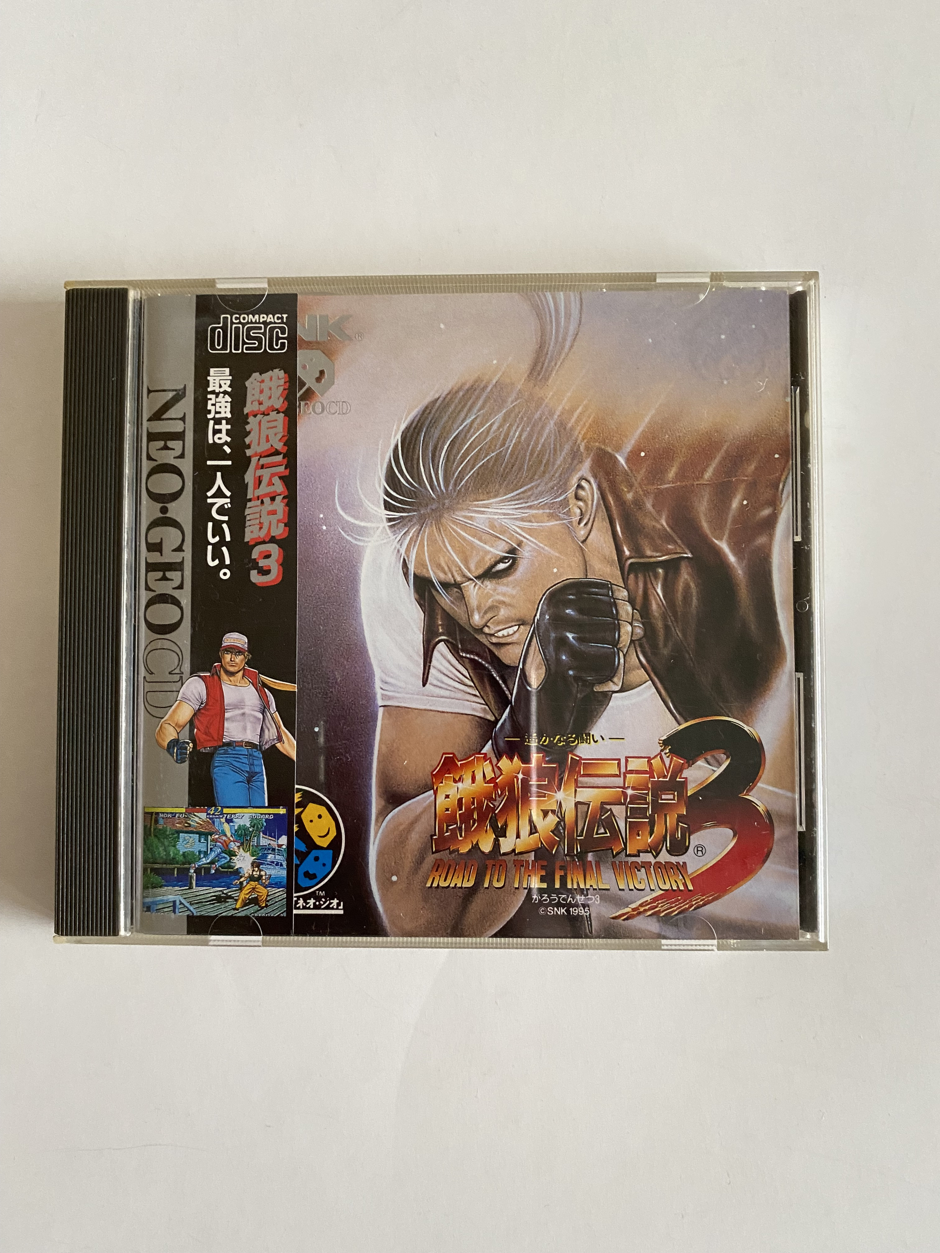 Fatal Fury 3 Road to the Final Victory  - Neo Geo CD