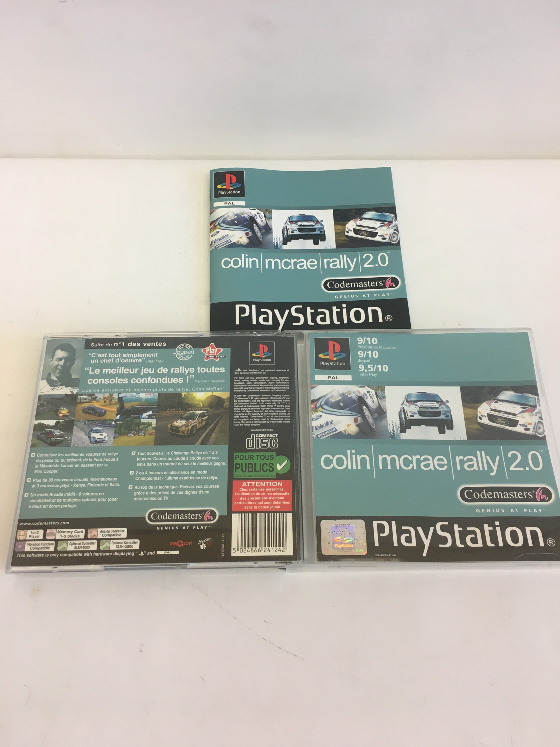 Colin McRae Rally 2.0 PS1