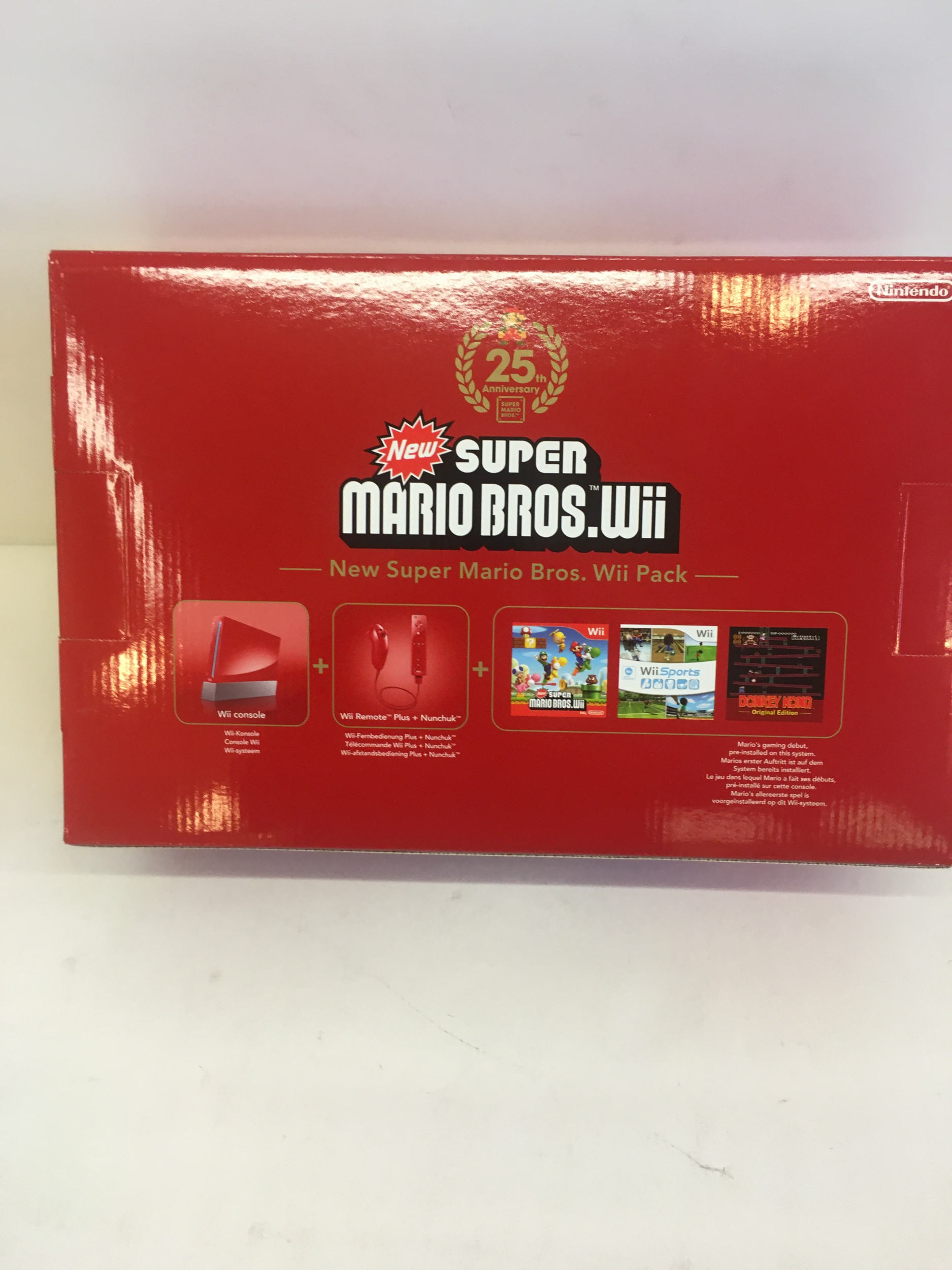Console Nintendo Wii 25th anniversary Super Mario Limited Neuve
